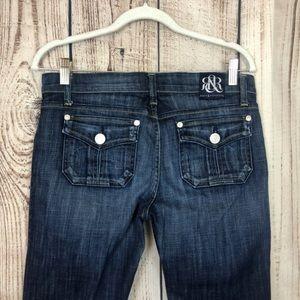 NWOT Rock & Republic Jimmy Jeans Dark Wash 29